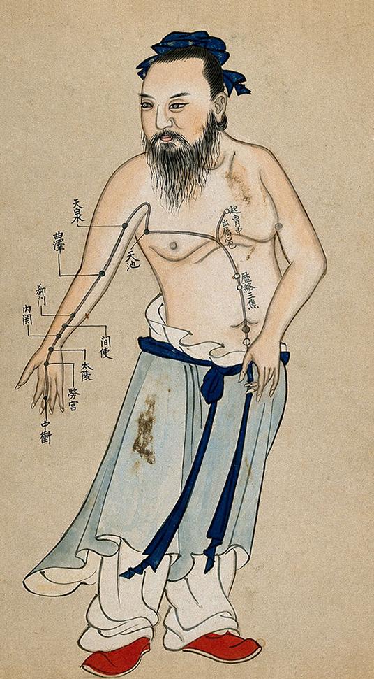 akupunktura, punkty akupunkturowe, historia tradycyjnej medycyny chińskiej, tradycyjna medycyna chińska, mansukrypt