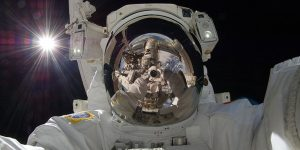 wizja, astronauta, kosmos