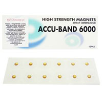 magnesy 6000 gs, złote, magnetoterapia