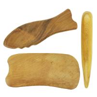 gua sha, guasha, drewniane, drewniane przyrządy do masażu