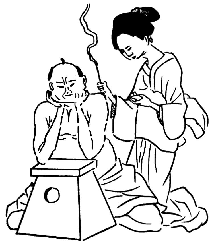 Termopunktura, moksoterapia